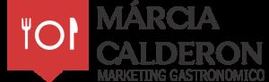 logo marcia calderon - marketing gastronomico