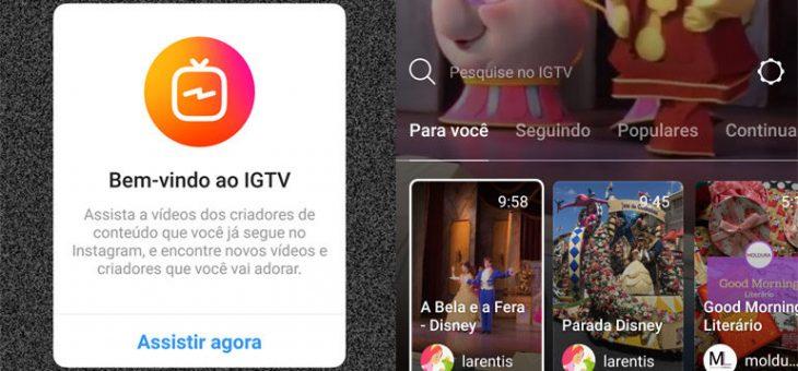 IGTV-Nova função do Instagram promete chacoalhar o mercado digital